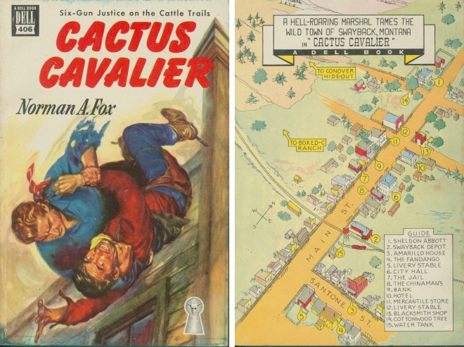 Cactus Cavalier by Norman A. Fox