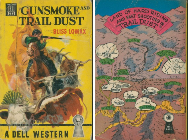 Gunsmoke and Trail Dust by Bliss Lomax