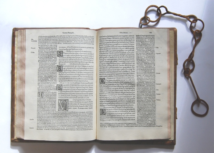 Suetonius 1491 binding