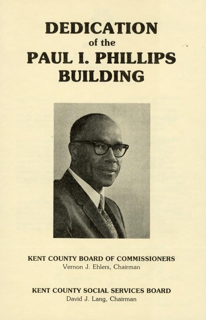 (8) Paul Phillips Building Dedication 1979