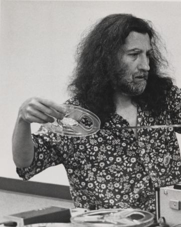 Jackson Mac Low at National Poetry Festival, 1971