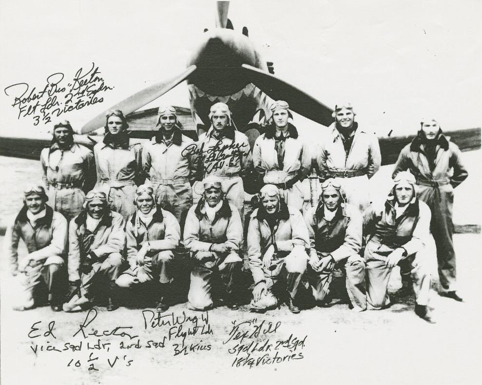 "The ""Flying Tigers"" American Volunteer Group pilots"