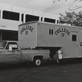 The Mobile Unit on campus