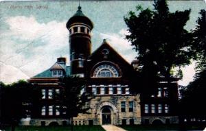 Poscard. Alpena High School, 1915