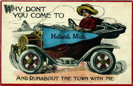 Postcard. Why Don't You Come to Holland, circa 1910