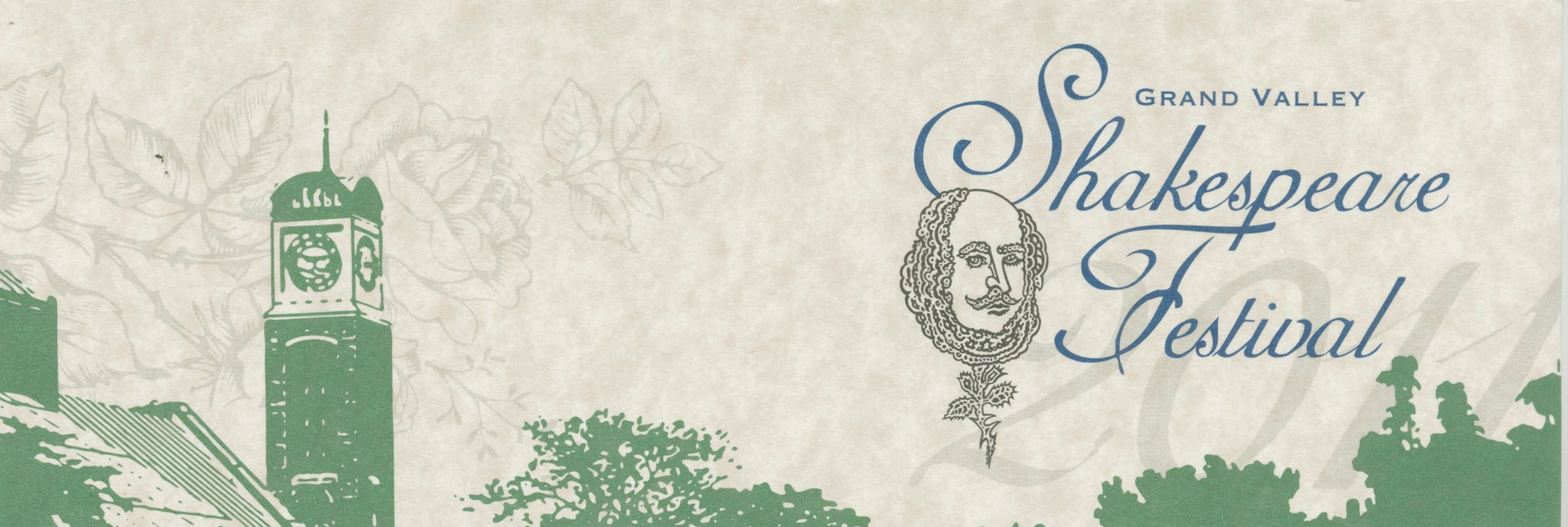 25th Annual Grand Valley State University Shakespeare Festival