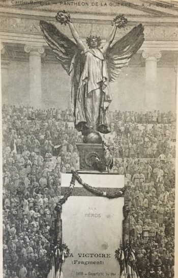 [Postcard front] Pantheon de la Guerre