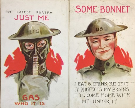 British wartime postcards