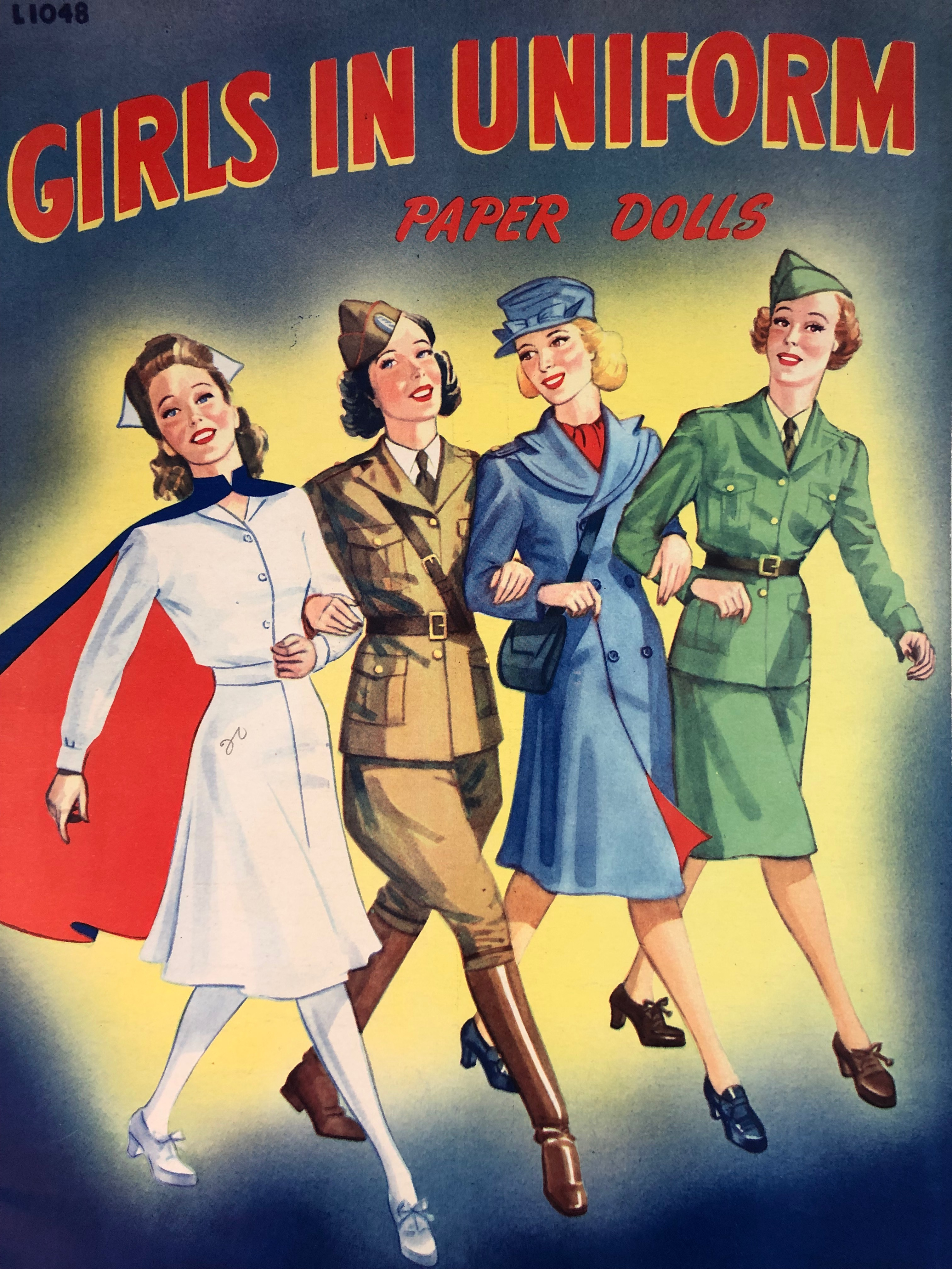 WWII Paper Dolls